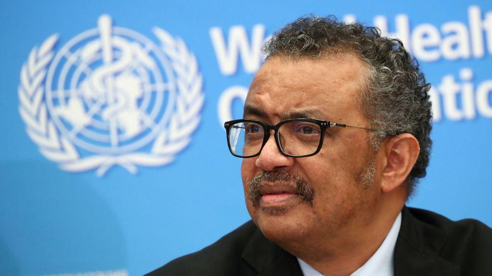 Foto: El director general de la OMS, Tedros Adhanom. (Reuters)