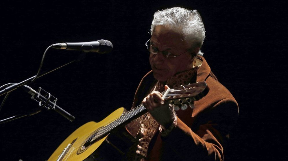 Foto: Actuacion de Caetano Veloso en Madrid. (EFE)