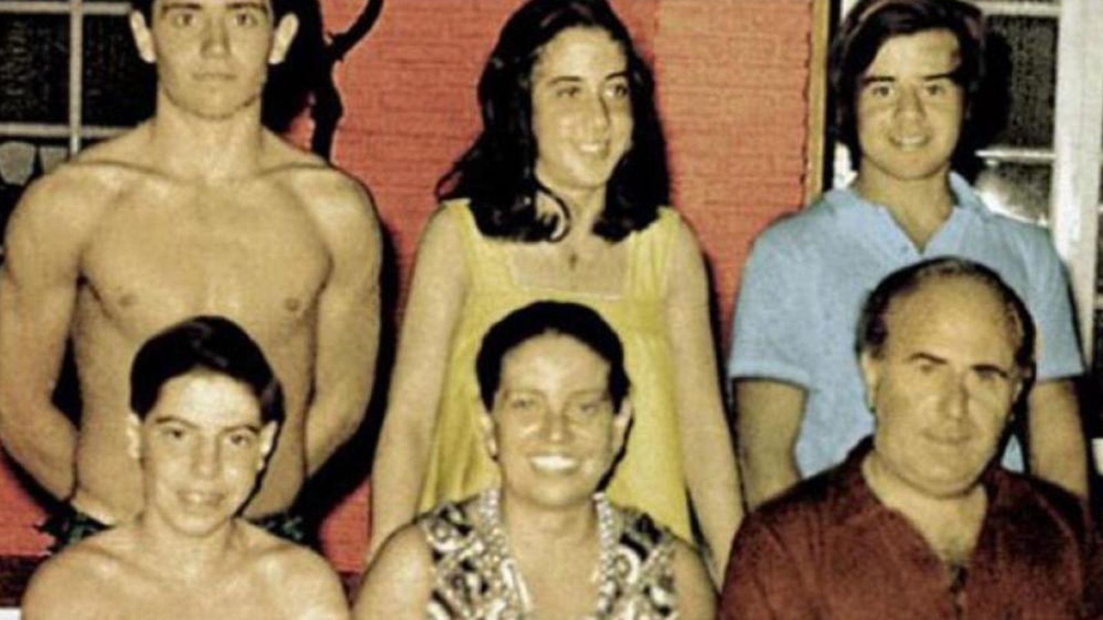 Foto: Imagen de los Puccio utilizada en la portada del libro de Rodolfo Palacios