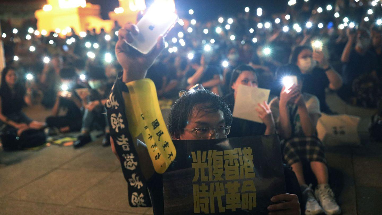Protestas en Hong Kong. (Reuters)