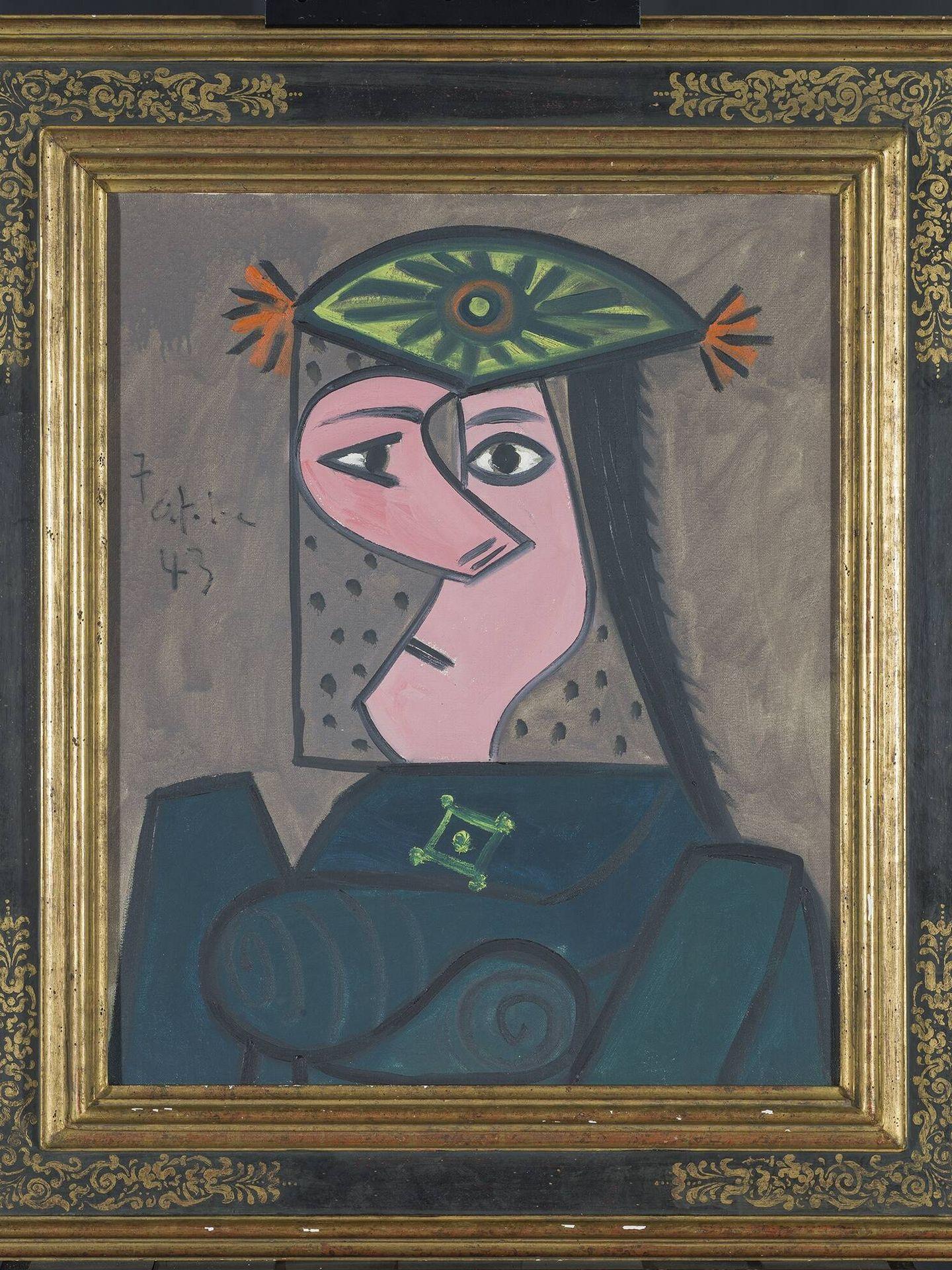 'Busto de mujer'. Pablo Picasso. 1943. Museo del Prado.