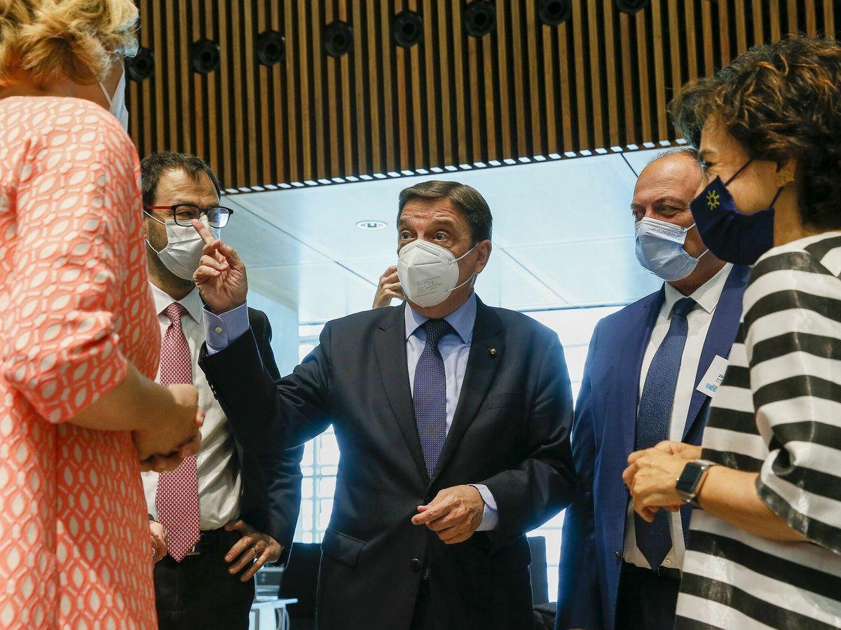 Foto: España y Portugal renuevan su acuerdo de gestión de recursos pesqueros en aguas limítrofes. (EFE)