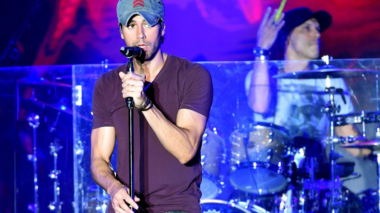 Foto: Enrique Iglesias durante un concierto (Gtres)