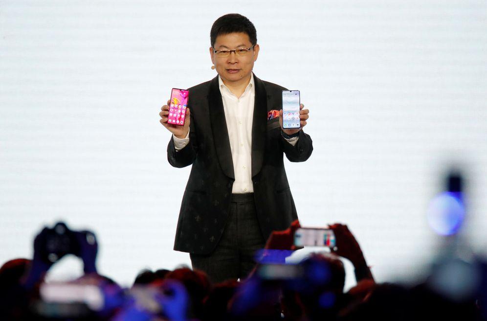 Foto: Richard Yu, CEO de Huawei, la empresa china con más marcas registradas en la Unión Europea. (Reuters)