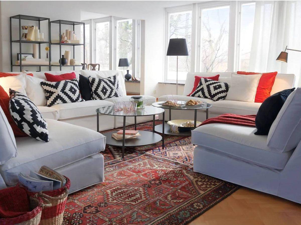 Foto: Convierte tu mesa de centro de Ikea en una obra de arte. (Cortesía)