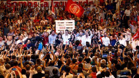 Sánchez moldea su PSOE sin críticos, más duro con Rajoy y próximo a Iglesias