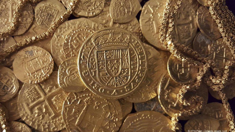 Una familia de Florida halla un tesoro en un barco español hundido en 1715