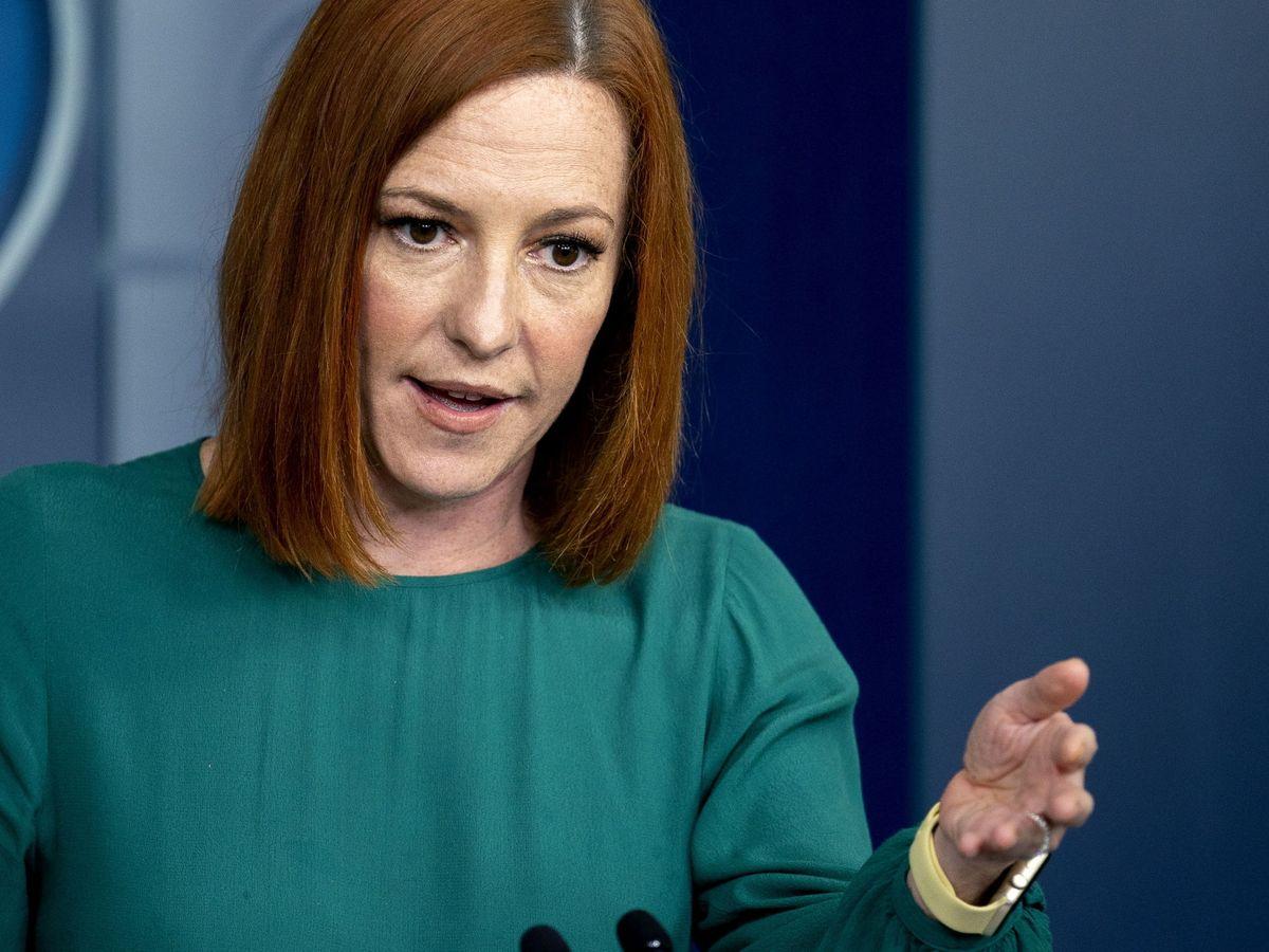 Foto: Jen Psaki, portavoz de la Casa Blanca. (EFE)