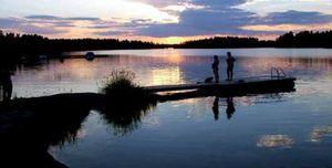 Vacaciones en plena naturaleza en los bosques de Finlandia