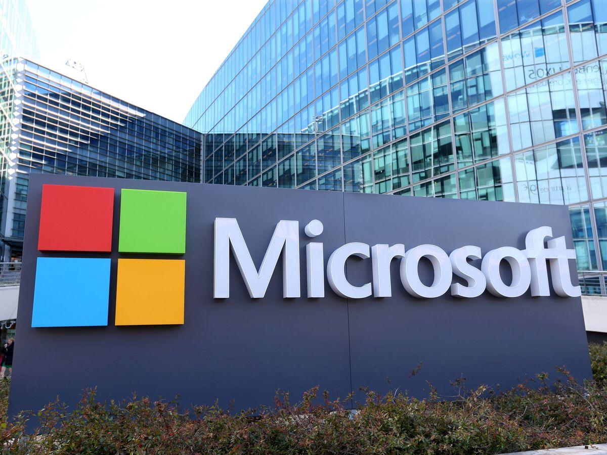 Foto: Logo de Microsoft. (Reuters)