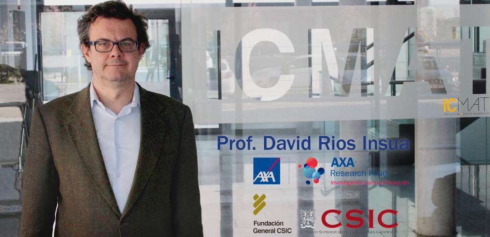 Foto: El investigador español, David Ríos (Fotografía: Fundación General CSIC).
