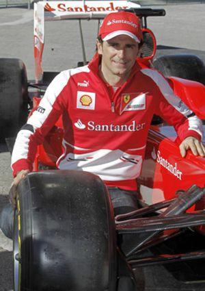 Existe el amor a primera vista: De la Rosa y su flechazo por Ferrari