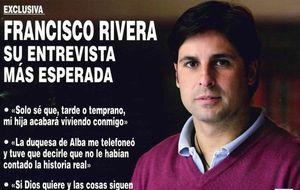 """La duquesa de Alba llama """"mentiroso"""" a Fran Rivera"""