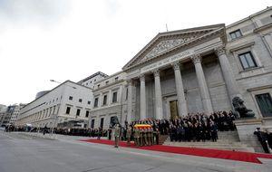 ERC y Amaiur se desmarcan del homenaje a Suárez en el Congreso