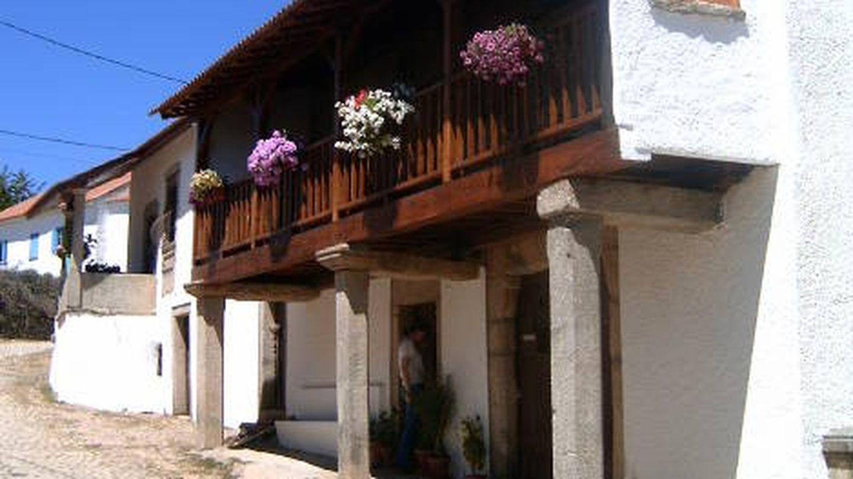 Casa típica de Trás-Os-Montes, en Carragosa (Manuel Anastácio)