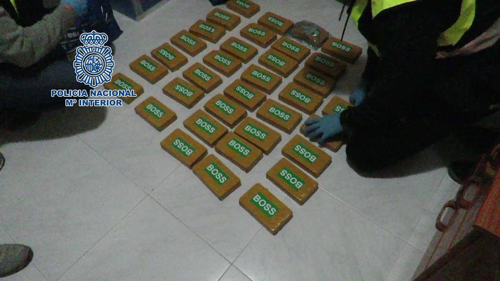Foto: Imagen de uno de los registros donde se incautó la droga. (Policía Nacional)