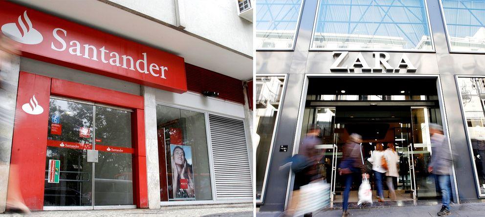 Foto: Santander y Zara repiten entre las 100 mejores marcas del mundo