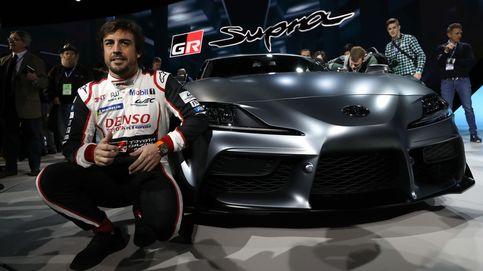 Las últimas emociones de Fernando Alonso en un circuito al volante de un Toyota
