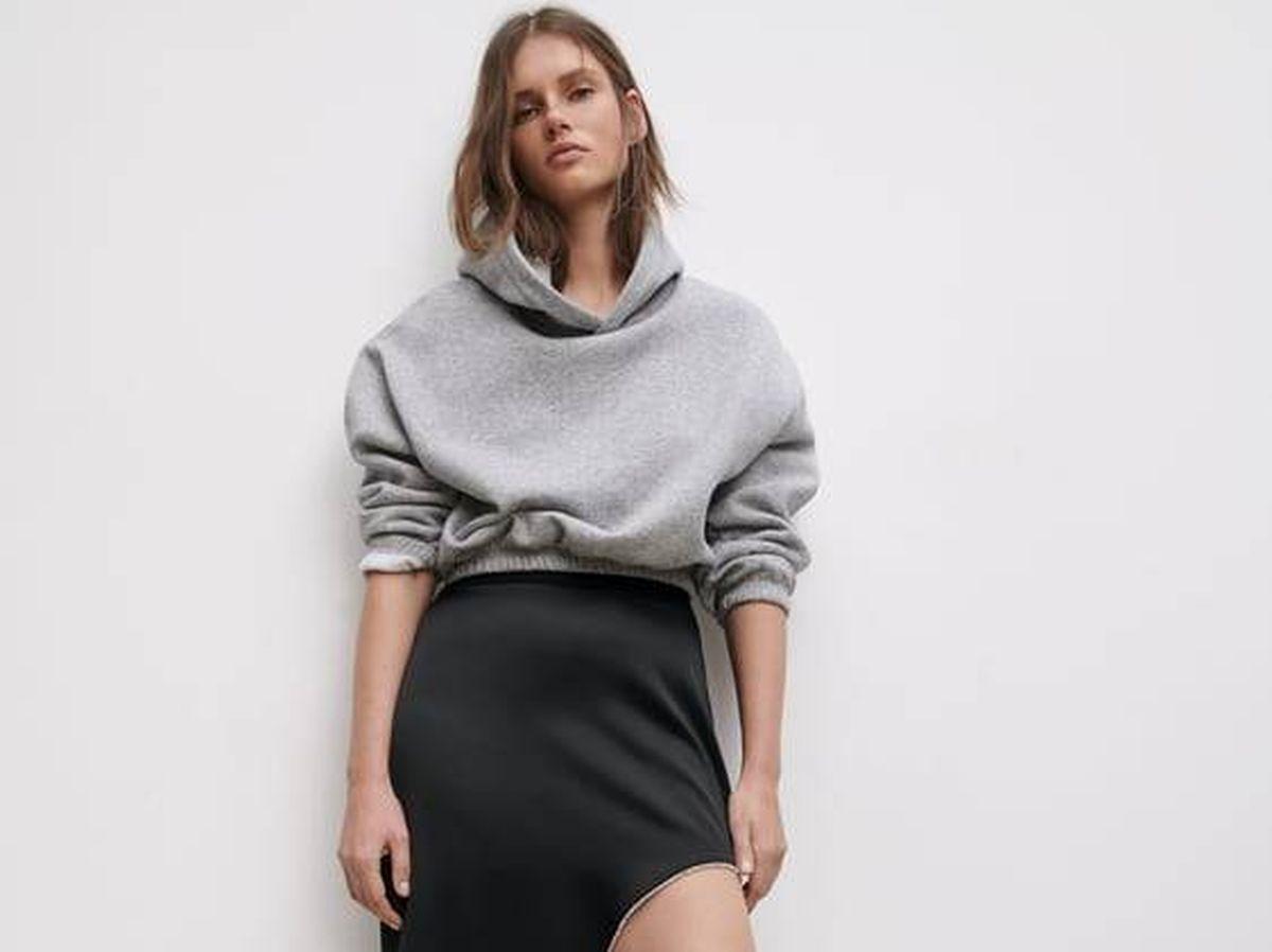 Foto: Faldas elegantes y sensuales de Zara. (Cortesía)