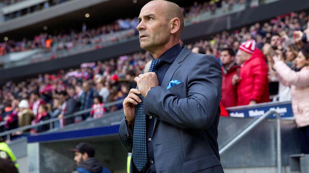 Foto: Paco Jémez, en el Wanda Metropolitano. (EFE)
