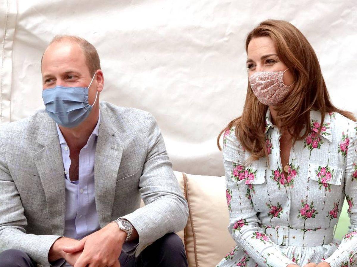 Foto:  Guillermo y Kate en una imagen reciente. (Getty)