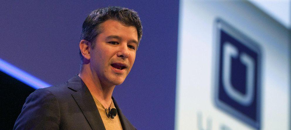 Foto: El fundador de Uber, Travis Kalanick
