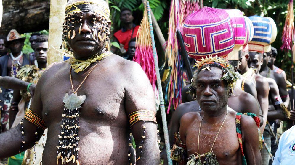 Foto: Gente de Bougainville participa en el referéndum de independencia. (Reuters)