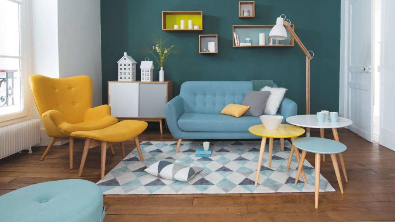 Sillones de Maisons du Monde llenos de color para tu salón. (Cortesía)