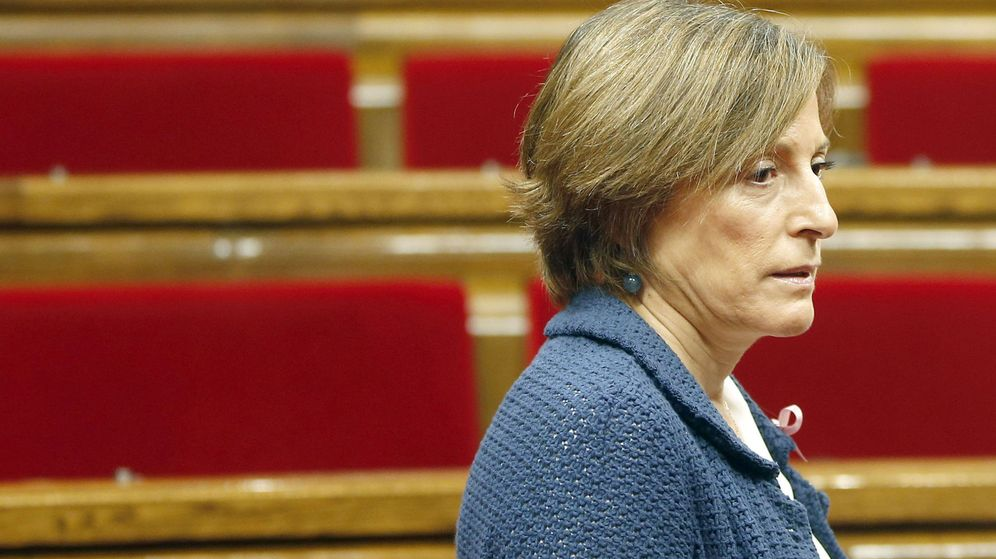 Foto: - La presidenta del Parlament, Carme Forcadell. (Efe)