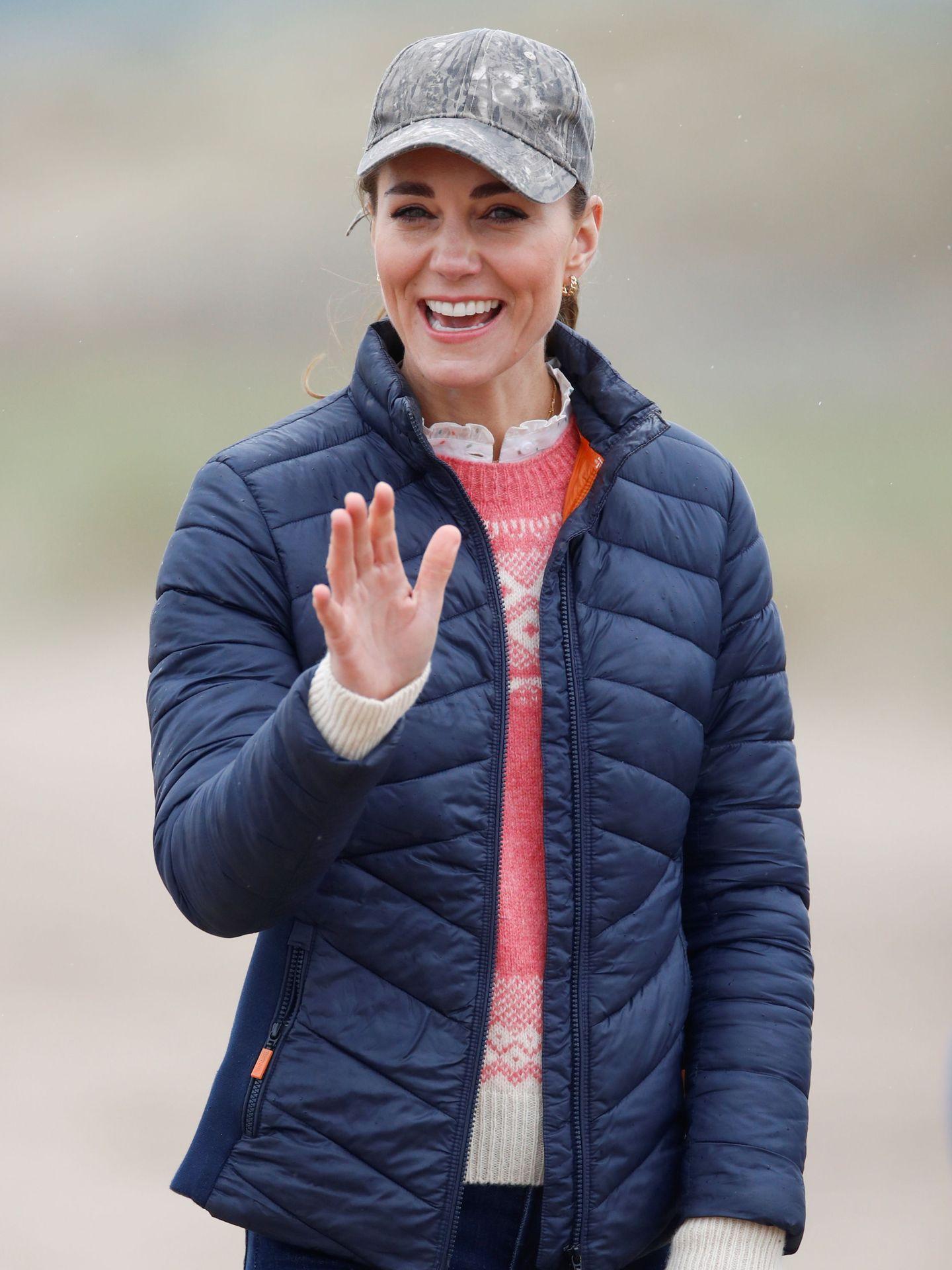 Kate Middleton, este miércoles en Saint Andrews. (Reuters)