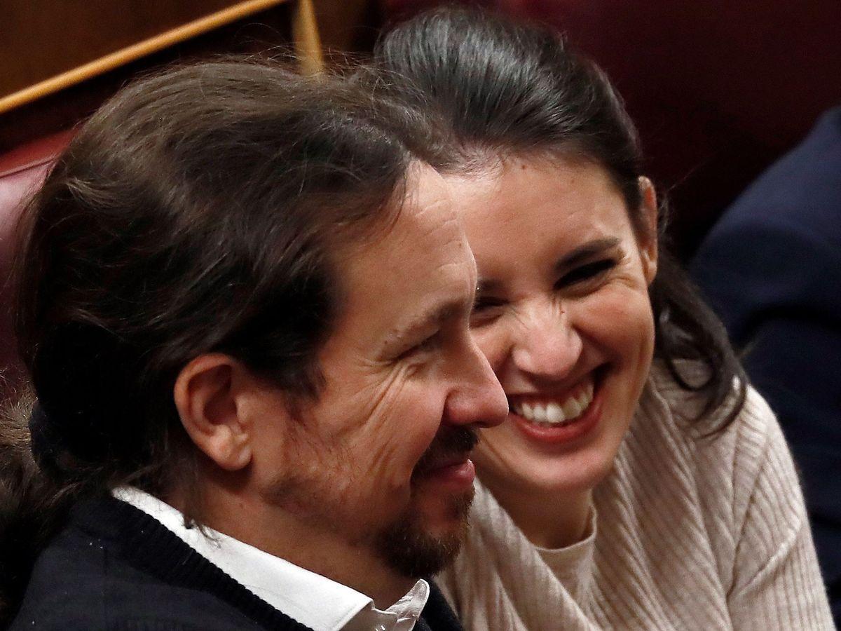 Foto: Pablo Iglesias e Irene Montero, en una imagen de archivo. (EFE)
