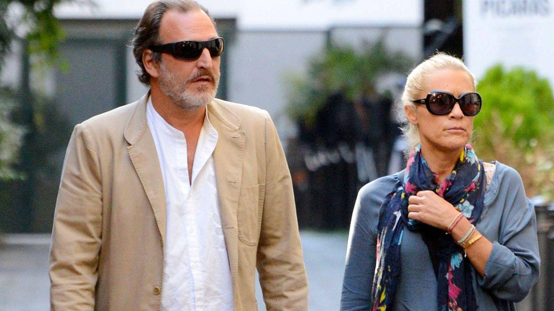 Juan Gómez-Acebo y su ex, en una imagen de archivo. (Getty)