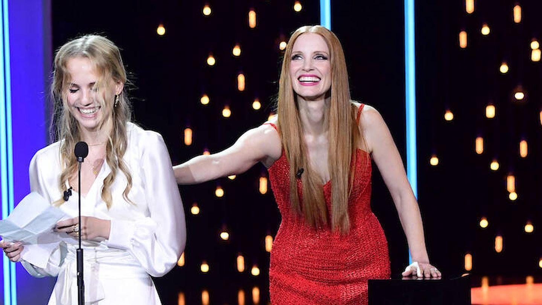 Jessica Chastain y Flora Ofelia, premio ex aequo a la mejor actriz. (Limited Pictures)