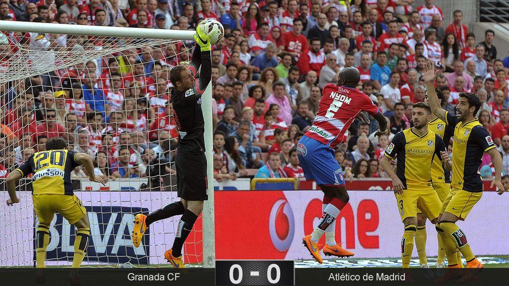 En el Granada-Atleti sólo faltó que los jugadores se comieran a besos