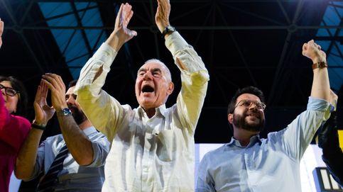 Euforia en ERC tras superar Maragall a Colau por unos millares de votos