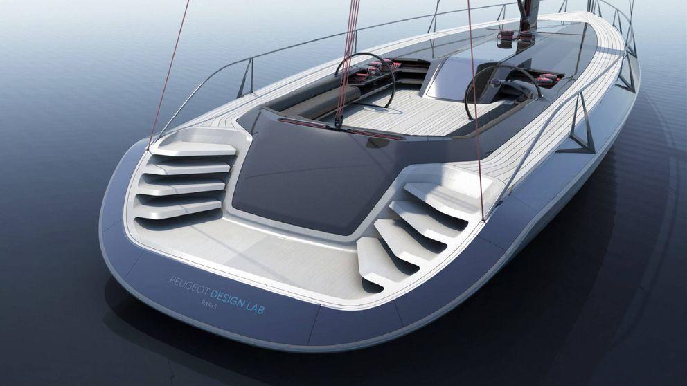 Peugeot se lanza a la conquista del mar con su nuevo yate de diseño