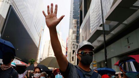 La ley anti-máscaras provoca nuevas protestas en Hong Kong