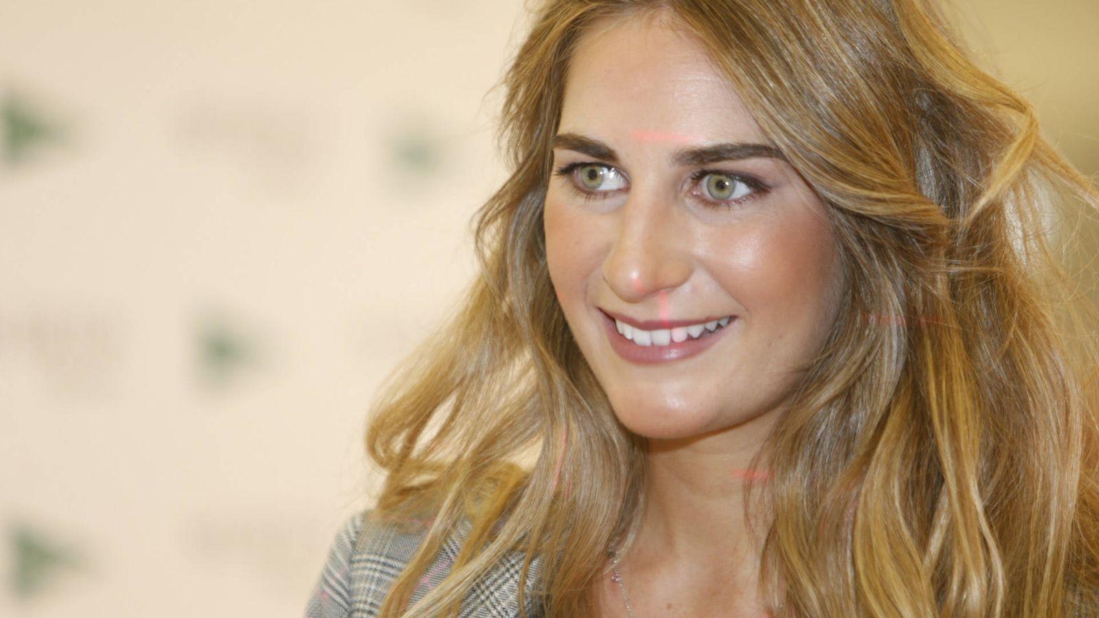 Foto: Sibi Montes, durante la presentación de 'Secretos de Belleza', de El Corte Inglés, el pasado viernes. (Gtres)