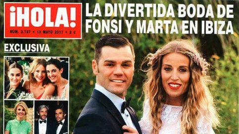 Una cojera, dos trajes y diez ramos de novia: lo que no se contó de la boda de Fonsi
