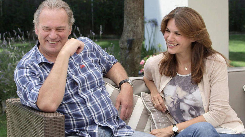 Bertín Osborne y Fabiola Martínez. (Mediaset)