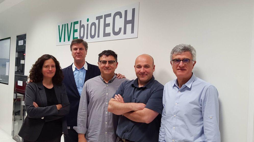Foto: Miembros de la empresa VIVEbioTECH.