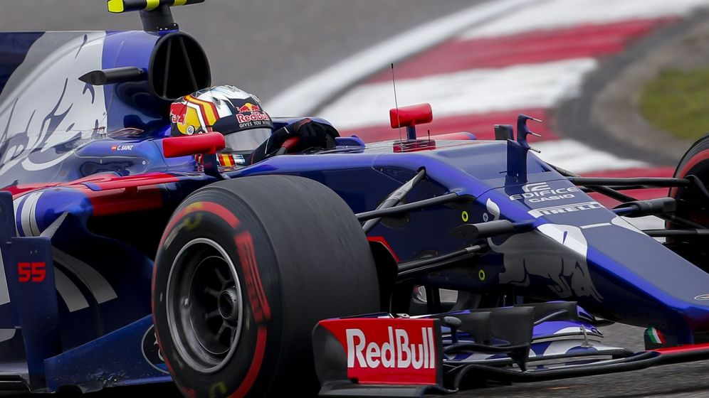 Foto: Carlos Sainz, en el GP de China. (Efe)