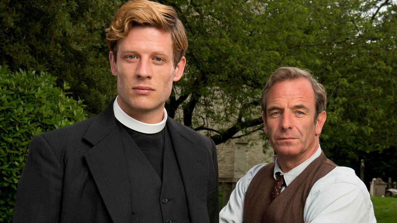 Foto: Protagonistas de 'Grantchester'