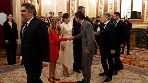 Pablo Iglesias acompaña este viernes a la reina Letizia en un acto en A Coruña