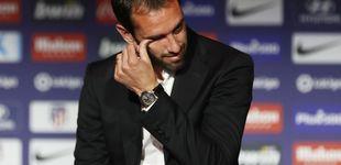 Post de Las lágrimas de Godín en su despedida del Atlético de Madrid
