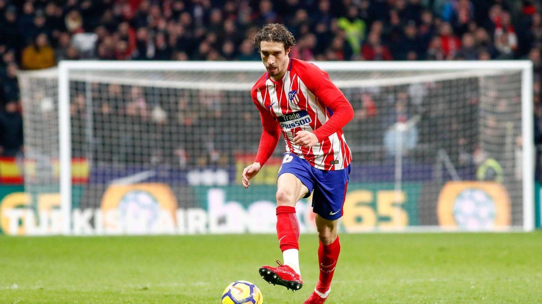 El cambio de rumbo en el  Atlético, con Vrsaljko, que deja en la puerta a Juanfran