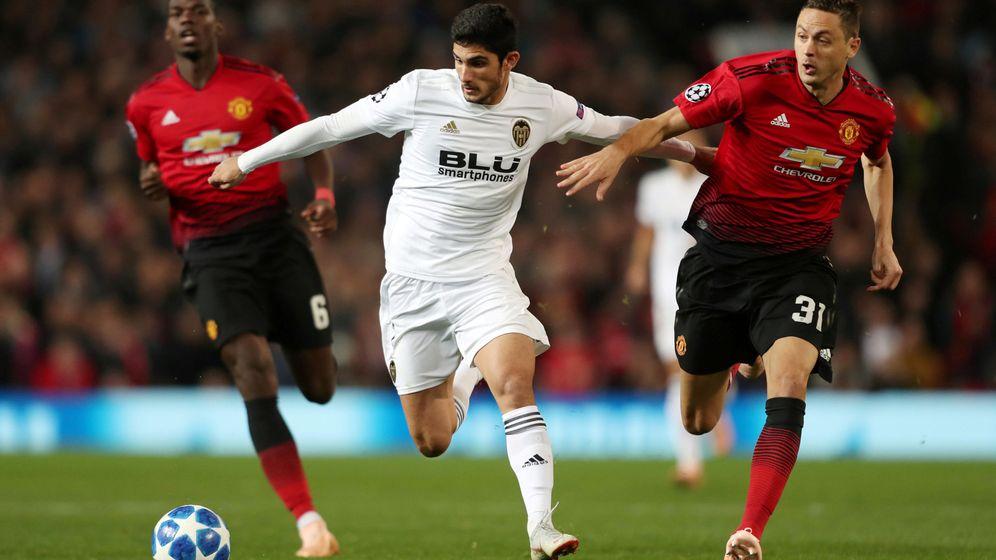 Foto: Manchester United-Valencia CF. (Reuters)