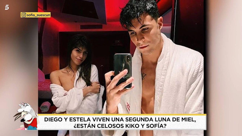 La provocación desesperada de amor de Kiko y Sofía a Estela y Diego tras 'GH VIP 7'