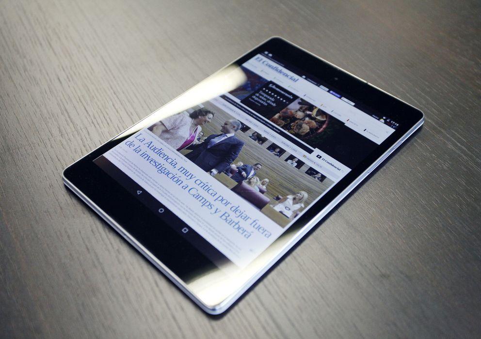 Foto: El Nexus 9 de Google (Fotografía: Enrique Villarino).