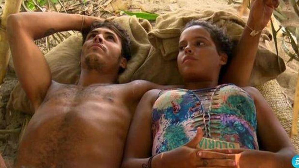 Foto: Kiko y Gloria Camila en 'Supervivientes'.